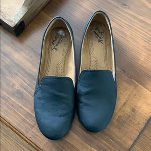 Ashley Vegan Leather Loafers Flats